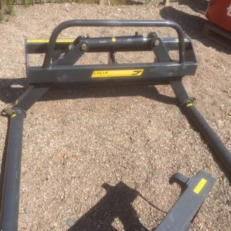 Fleming Round Bale Stacker